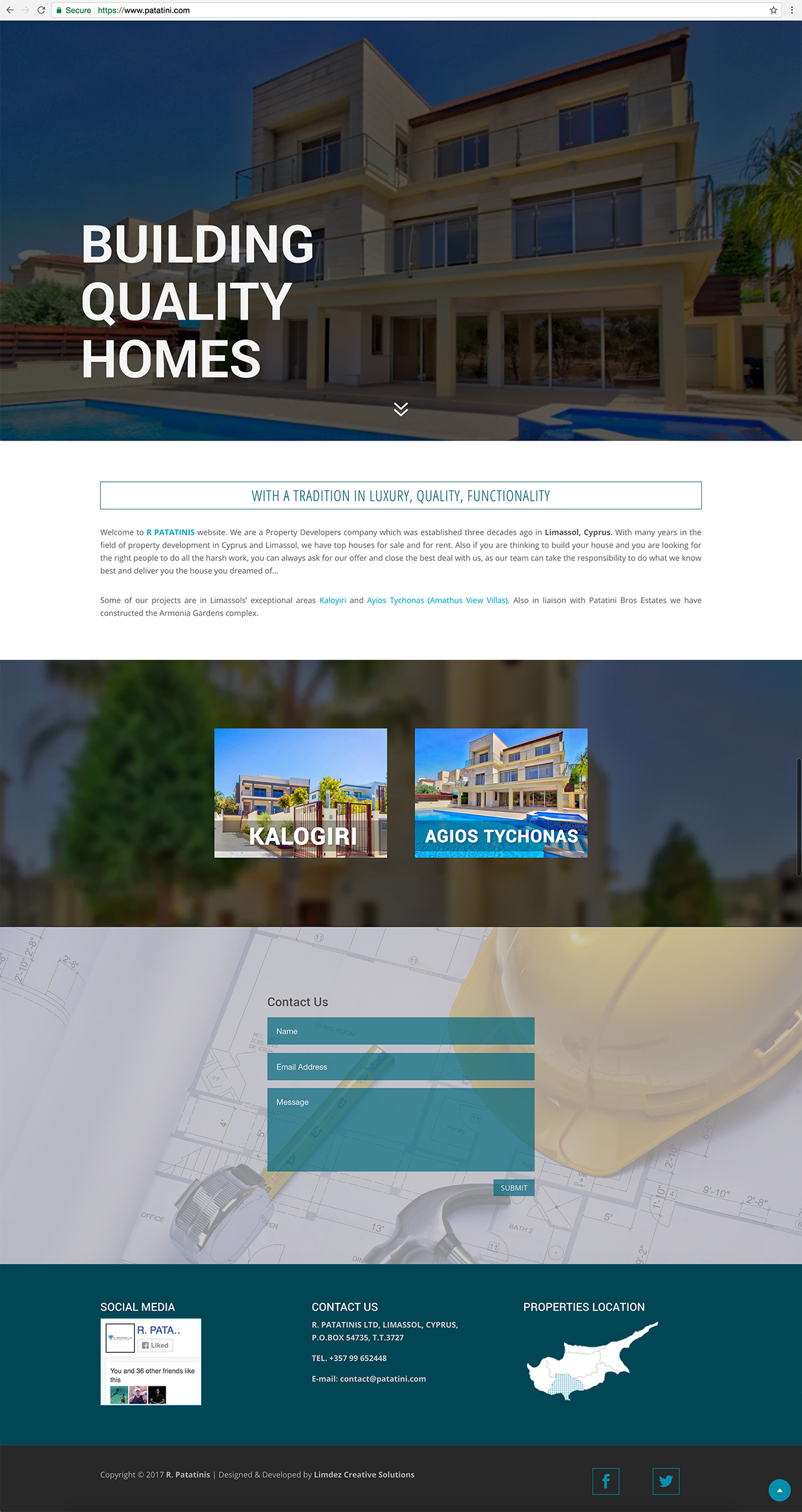 Website Design Cyprus R Patatinis