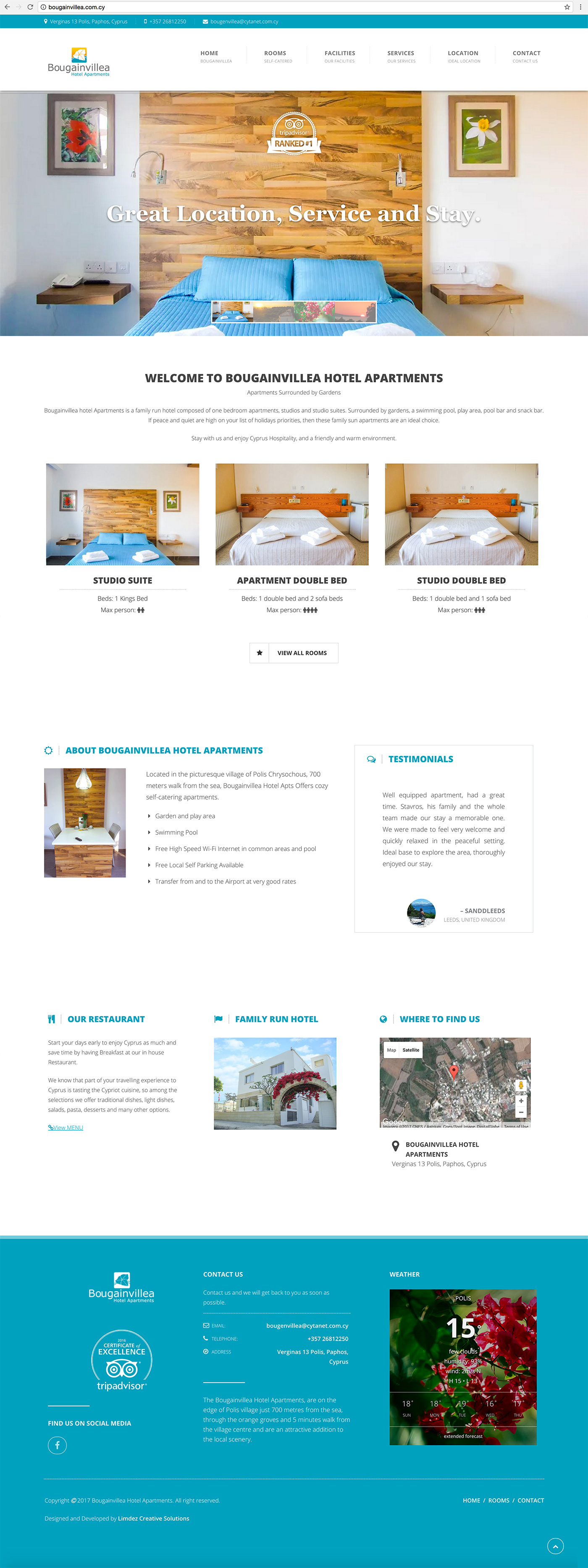 cyprus web development limassol website design