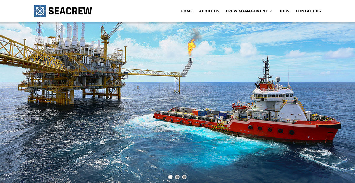 seacrew-management-cyprus-website-design